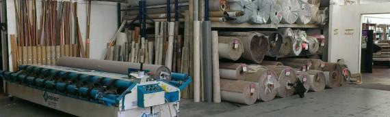 Carpet Cutting Area